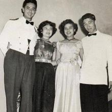 Gordon Randall, Lelaine Mok, Tracy Brown and Archie Lang
