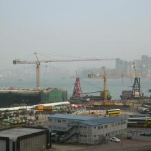 2004 - construction of new Star Ferry Pier