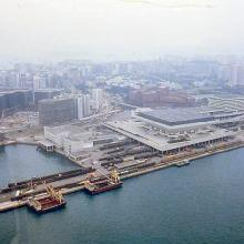1986 - helicopter view of Hung Hom