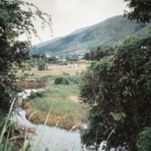 River bend in New Territories