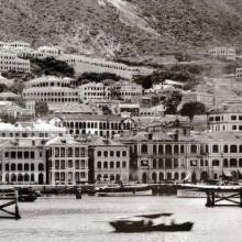 Waterfront in Central District in 1890s