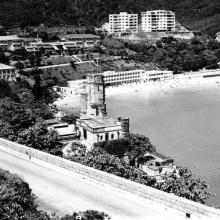 Repulse Bay postcard from 1955
