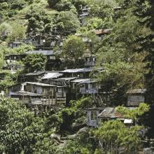 Squatter Huts seen from Tiger Balm Garden