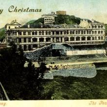 1900s Peak Hotel Christmas Card