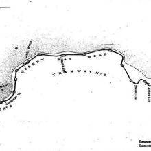 1903 Proposed Hong Kong Tramway Tracks to Shaukiwan