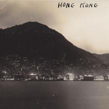 1930s Harbour Central Night View