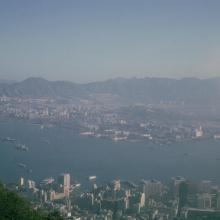 1964 HK View from Peak.jpg