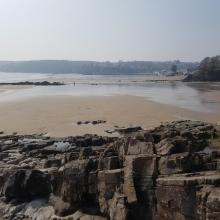 The beach near Saundersfoot