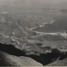 View over Silver Mine Bay from Lantau Mountain Camp