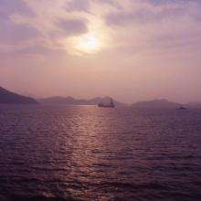 2000 - sunset over Mirs Bay