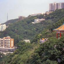 2001 - view from the Peak