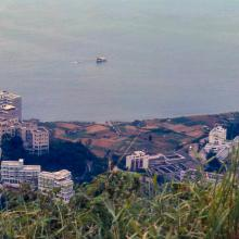 1978 - view from the Peak