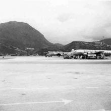 28  Good Hope School View from Kai Tak Airport (1950s)
