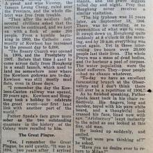 Article from the SCMP November 1932 (part 3)