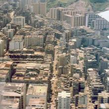 1987 - flying out of Kai Tak
