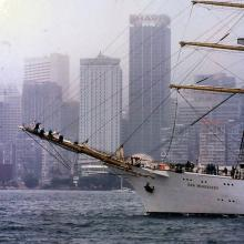 1997 - tall ships in Victoria Harbour