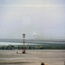 1985 - Concorde leaving Kai Tak