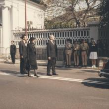 Sir Edward Youde's funeral #4