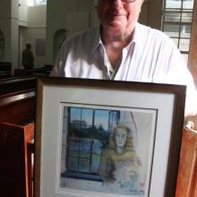 6. Conner Hackett with painting of his mother.jpg