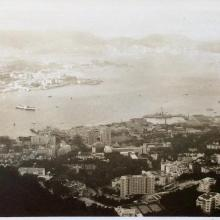View from the Peak 1957