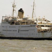 AESAREA-CAESAREA ex British Rail Cross Channel ferry-1982