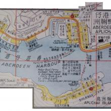 1958 map of Aberdeen