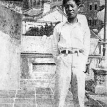 Rooftop Terrace, 145 Caine Road, 1920s, Hong Kong