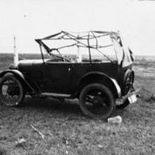 1936 Typhoon Damage - Austin 7