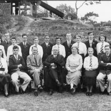 CBS PREFECTS 1934 Rev Upsdell, Mr Rowell