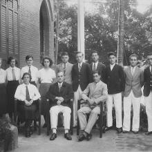 CBS Prefects 1933 Mr Nightingale
