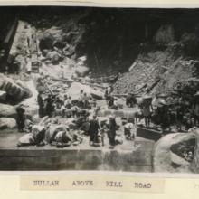 1926 Nullah above hill road