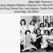 Cathay Pacific -Air Hostesses-including Margaret Wheeldon-1950