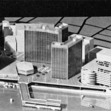 Central District-redevelopment proposal model-1962