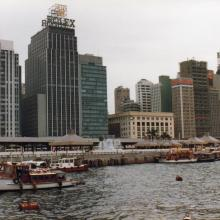 Connaught Road from harbour.