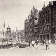 Connaught rd. From right - Kings Building, St.Georges building, Queens building.jpg