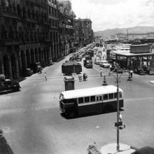 Connaught Road 1955.