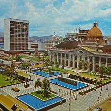 1966 Statue Square and City Hall