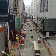 Canton Road looking south (2017)