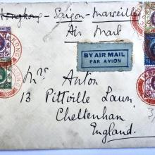 First Airmail Trial Flight via Saigon and Marseilles 1932