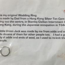 Ring and badge