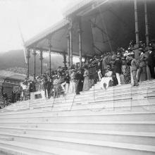 Crowd in the Happy Valley Grandstand