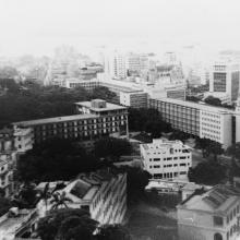 HK 1955 from our veranda in Macdonnell road
