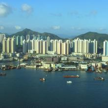Yau Tong view from the harbour