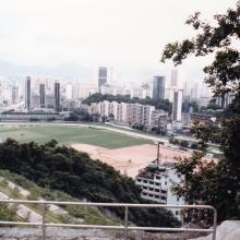 Happy Valley racecourse.