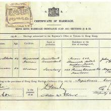 Harry Blake & Olga Robinson Marriage Certificate.jpg