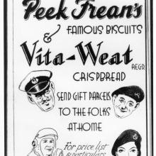 Hong Kong Volunteers Year Book-1936-Peak Frean Biscuits advert