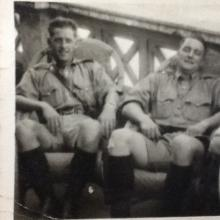 Charles Coull and Colleague, Hong Kong Police