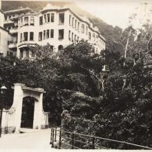 Entrance to Tregunter Mansions