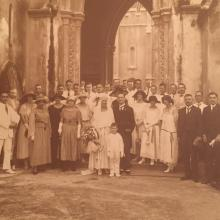 Marriage of CJ Endert and JGA Schabeck (Dutch), 8 September 1923