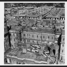View North over TST from Peninsula Hotel 1946-47